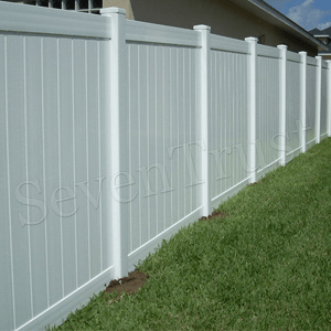 PVC Privacy Fence