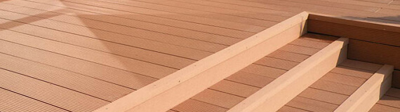 Hollow Composite Decking ST-100H25