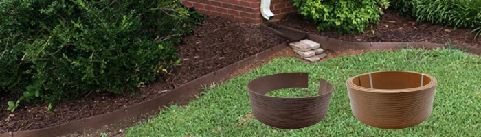 Environmental Friendly Composite Landscape Edging