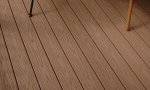 deep embossing WPC outdoor decoration decking