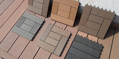 Outdoor DIY Decking model Case