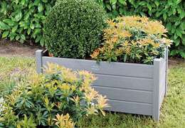Pollution-free garden flower boxes