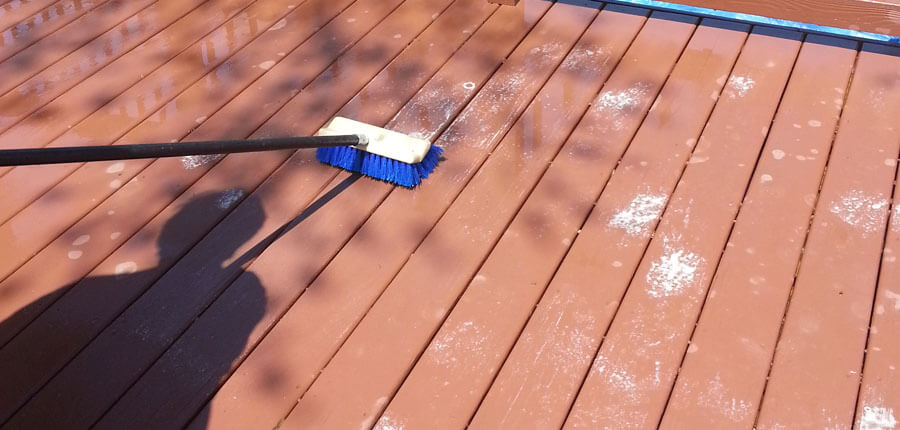 hollow deck clean steps