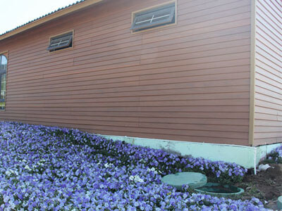 Easy access to outdoor wall panels