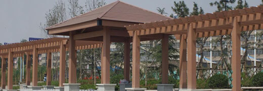 Outdoor pavilion customization service