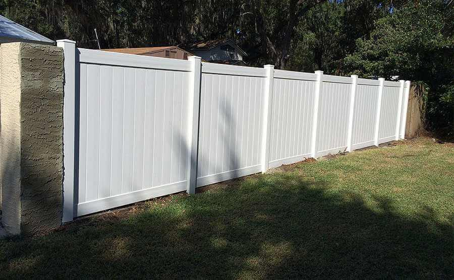 PVC Outdoor Garden Fence