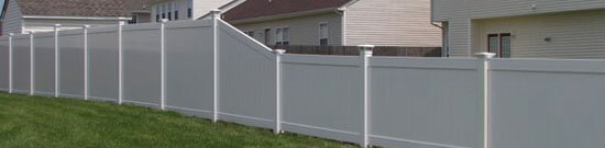 PVC fence can look exactly like timber