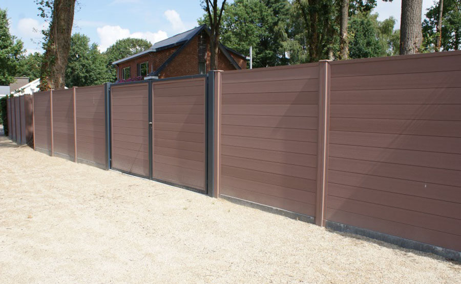 Outdoor Composite Fence