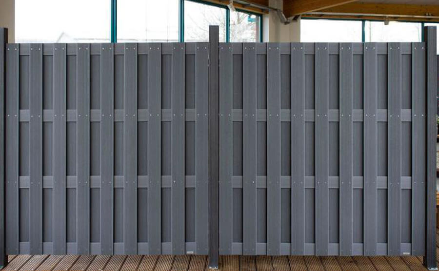 Wood Plastic Fence Panel