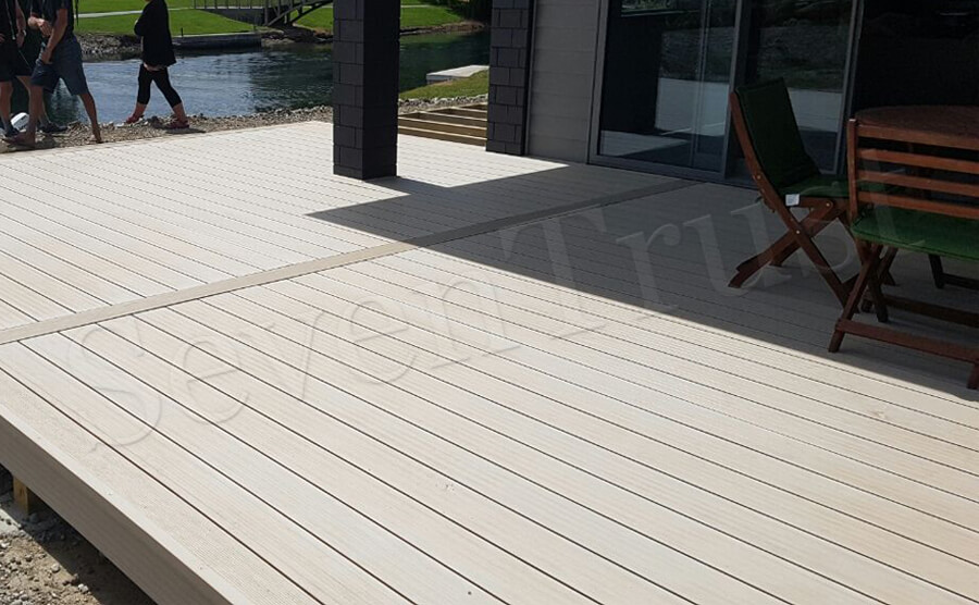 White Hollow Decking in New Zealand