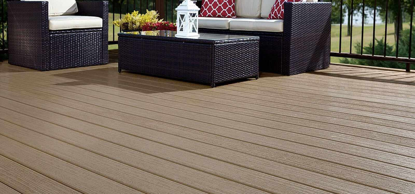 Deep Embossed Decking Decoration Product