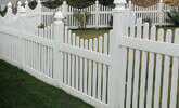 Outdoor Garden PVC Fence