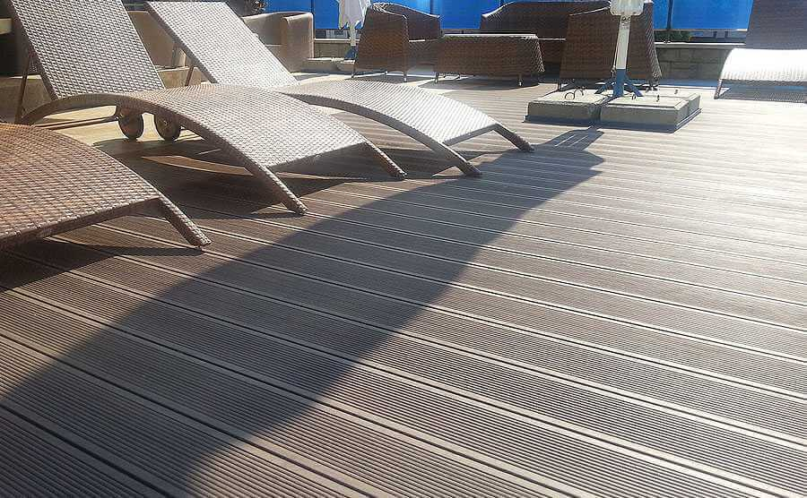 Damp proof Hollow Decking