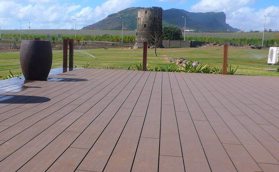 Comfortable Wood Plastic Composite Products