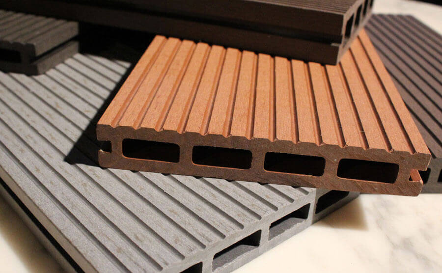 outdoor wood plastic composite decking
