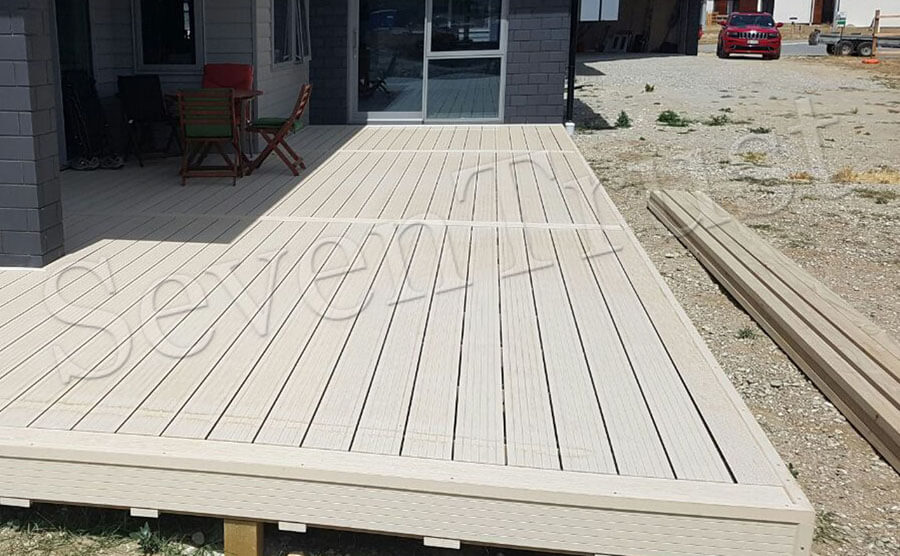 Outdoor Hollow Decking Project