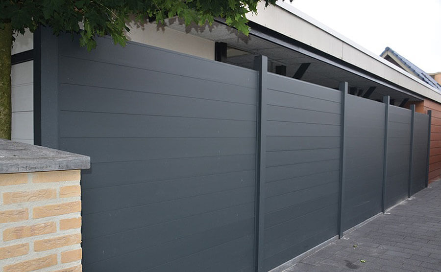 Various Types Of Outdoor WPC Fence