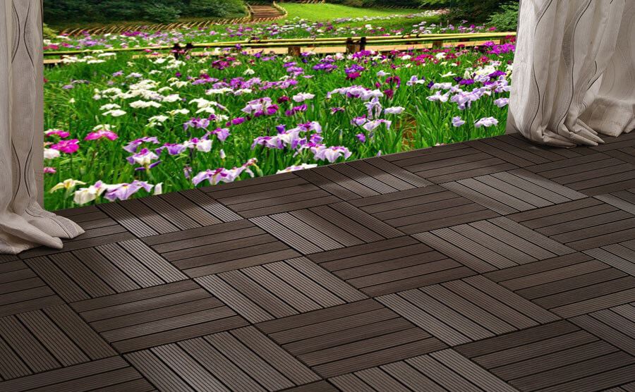 Ecological Outdoor DIY Decking