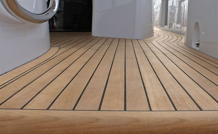 Seven Trust synthetic teak decking