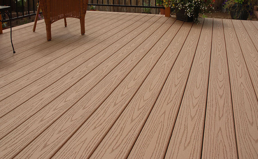 Embossed Composite Decking