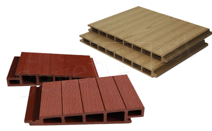 Wood plastic wall panel sound-absorbing principle