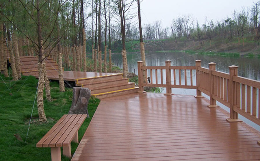 Wood Plastic Composite Decking board quality