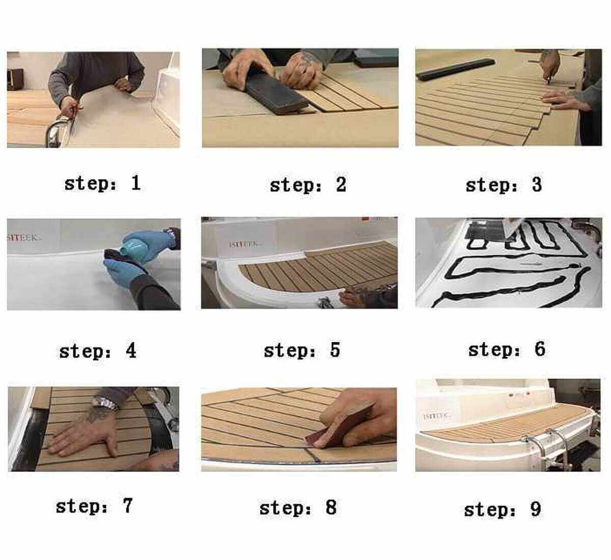 Boat Deck Install Step