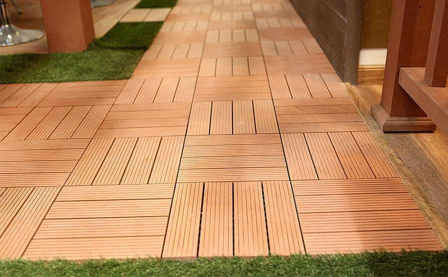 Best Waterproof Outdoor WPC DIY Decking