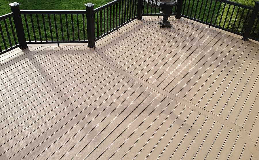 PVC Decking installation