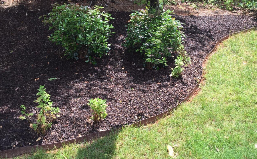 Environmentally Friendly Composite Landscape Edging