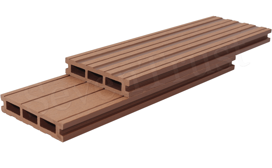 Garden Hollow Composite Decking ST-100H25