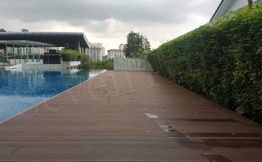 Pool Decking Installation Project in Malaysia