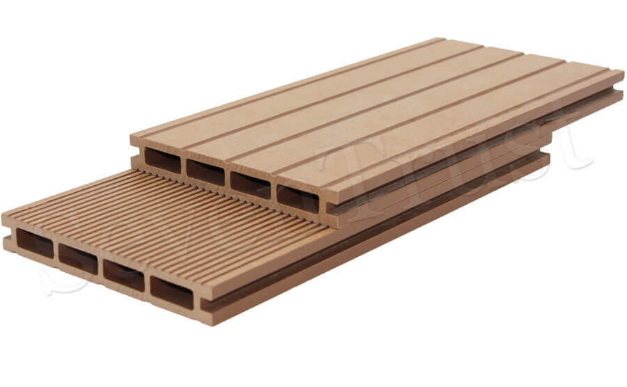 antiskid and wear-resisting performance decking