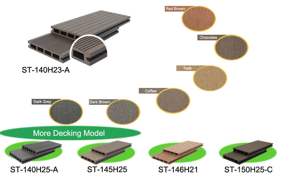 Composite Deck Boards Material Design