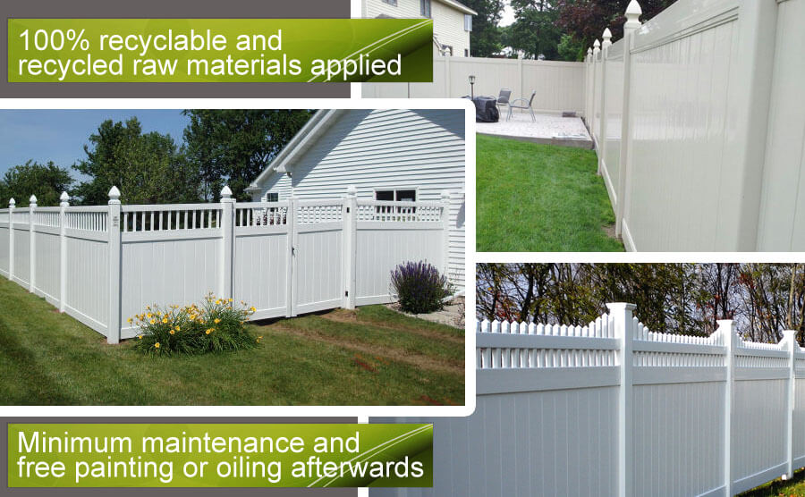 Garden Fence Option for Outdoor Pool