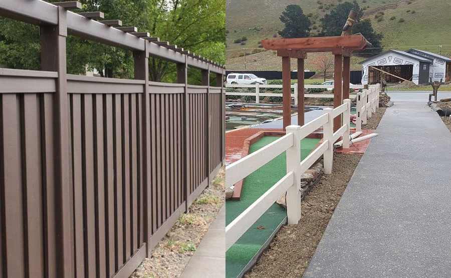 PVC Fence or WPC Fence