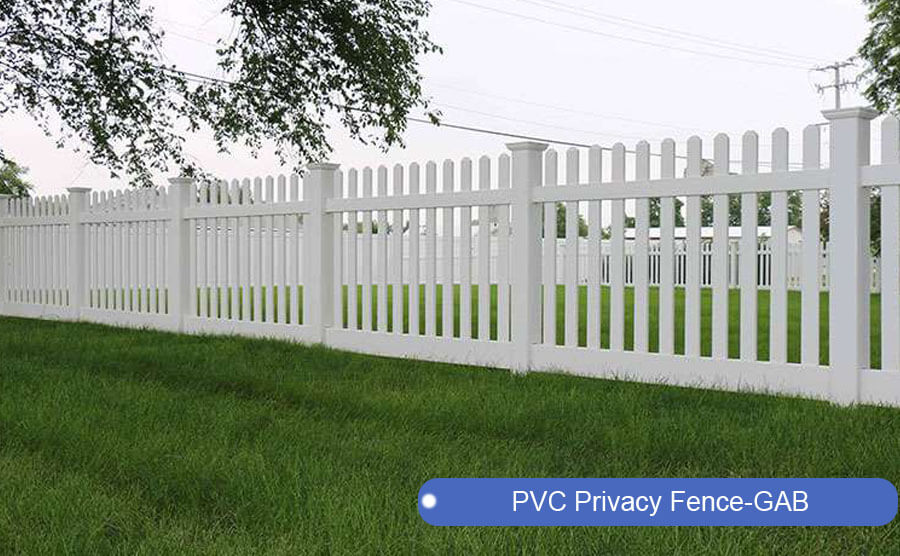 PVC Privacy Fence-GAB