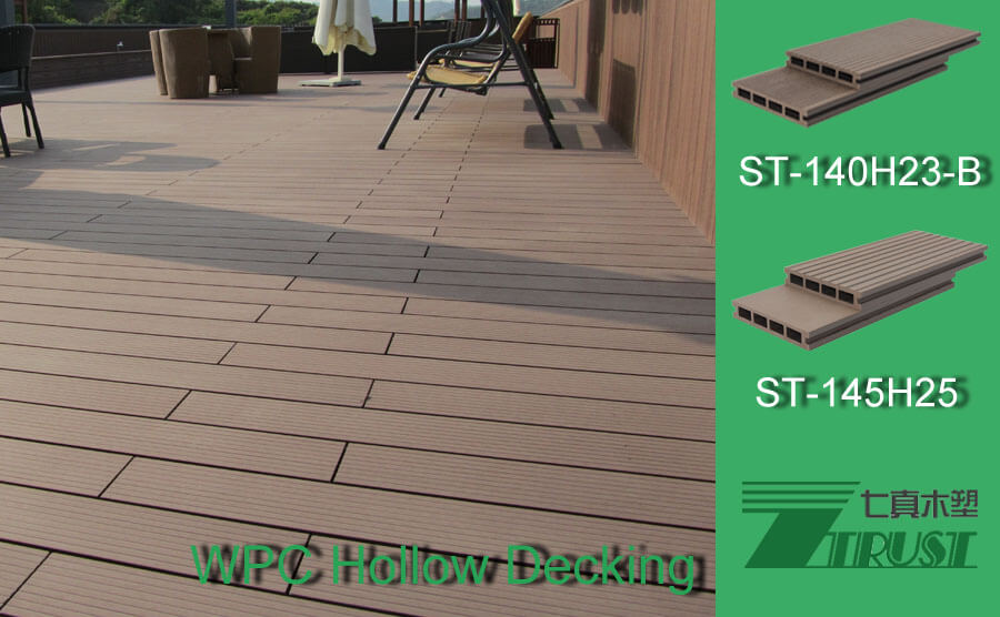 Some Operation Will Damage WPC Hollow Decking