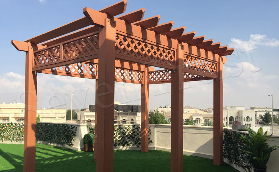 Tasteful Decorative Pergolas