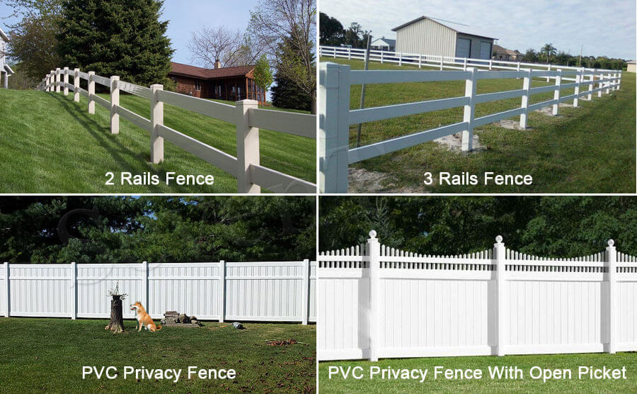 Commercial Grade PVC Fence