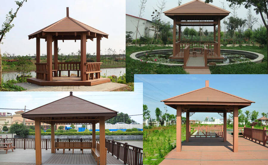 Outdoor Pavilion Installation Plans