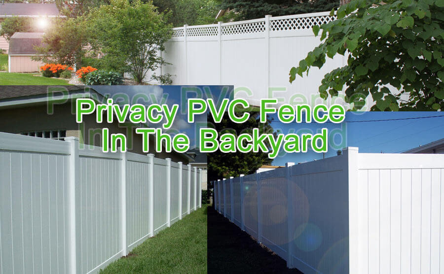 How to Create a Privacy PVC Fence In The Backyard