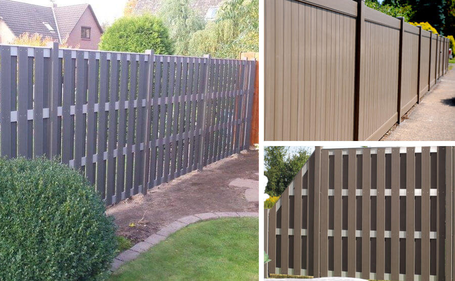 The Best Combination Of Wall Color With WPC Fence Color
