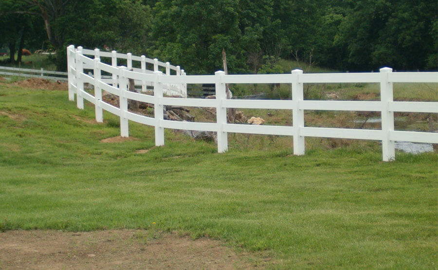 The Most Popular Vinyl PVC Fence Construction