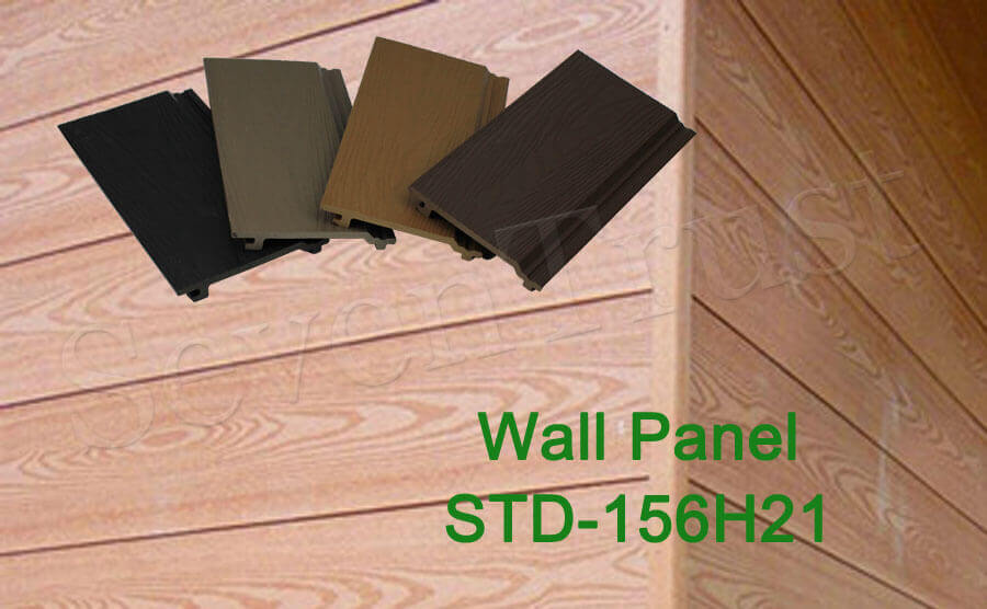 Wood Plastic Composite Outdoor Wall Panel model