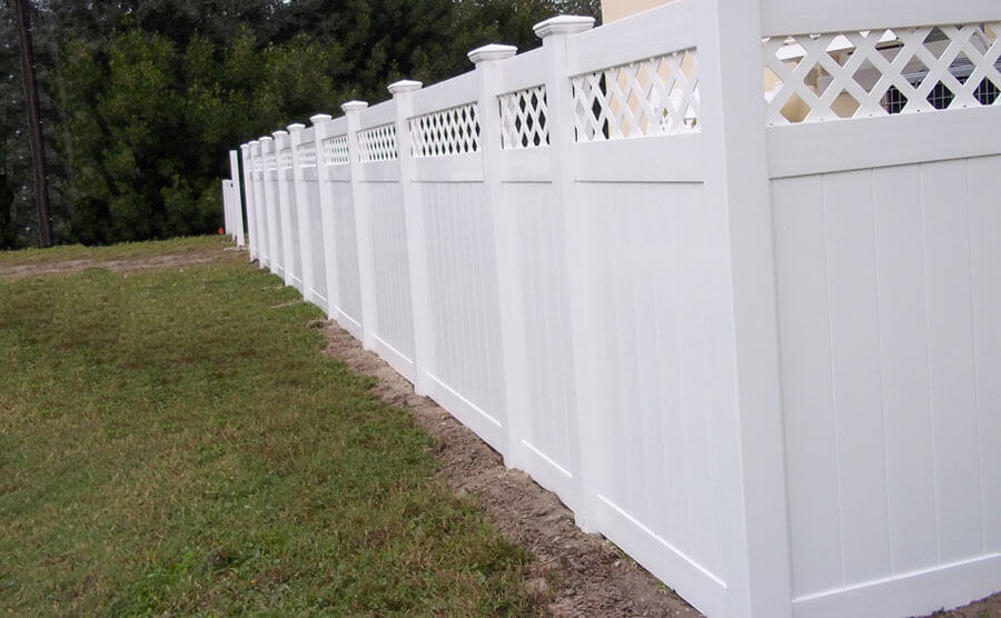 PVC Privacy Fence Keep The Outside World Quiet