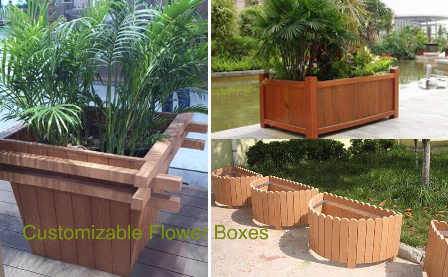 Customizable Flower Boxes