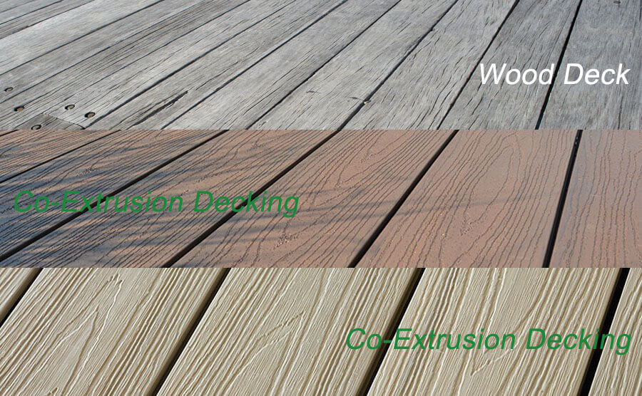 Wood Deck Versus Co-Extrusion Decking