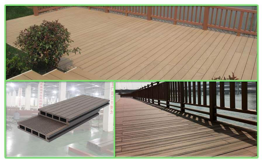 Construction Analysis of Wood Plastic Composite Materials in Garden Engineering