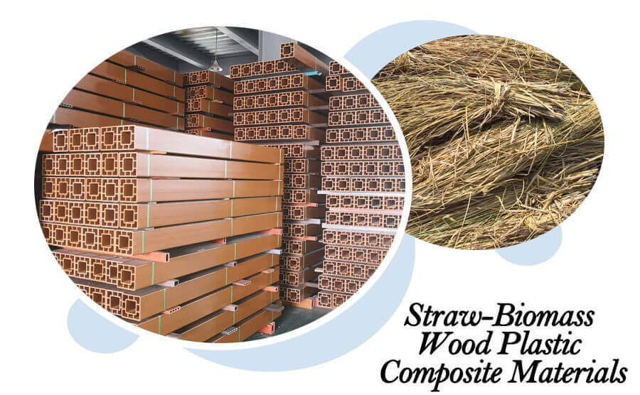 Prospects of Straw-Biomass Wood Plastic Composite Materials